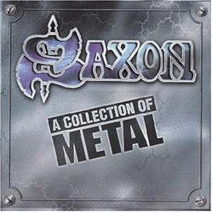 Saxon : A Collection Of Metal. Album Cover