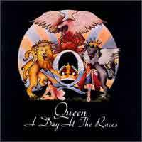 Queen : A Day At The Races. Album Cover