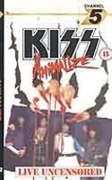 Kiss : Animalize LIVE UNCENSORED (VIDEO). Album Cover