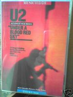 U2 : Under A Blood Red Sky live from red rocks. Album Cover
