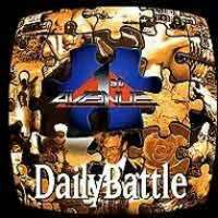 1st Avenue : Daily Battle. Album Cover