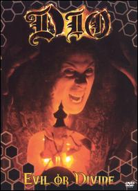 DIO : Evil or Divine (DVD). Album Cover