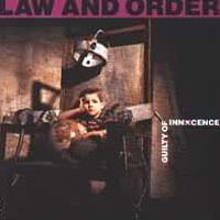 Law And Order : Guilty Of Innocence. Album Cover
