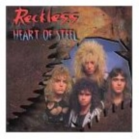 Reckless (Canada) : Heart Of Steel. Album Cover