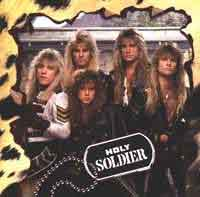 HOLY SOLDIER : Holy Soldier. Album Cover