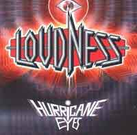 LOUDNESS : Hurricane Eyes. Album Cover