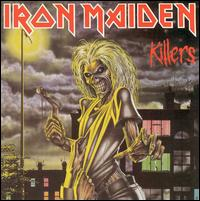 Iron Maiden : Killers. Album Cover