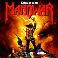 Manowar : Kings Of Metal. Album Cover