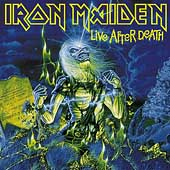 Iron Maiden : Live After Death. Album Cover