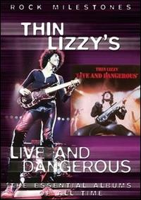 Thin Lizzy : Live And Dangerous (DVD). Album Cover