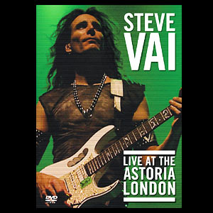 Vai, Steve : Live At The Astoria ( DVD ). Album Cover