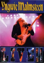 Malmsteen, Yngwie : Live !!    (DVD). Album Cover