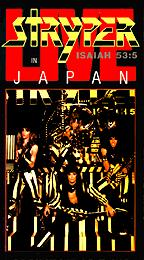 Stryper : Live In japan. Album Cover