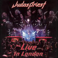 Judas Priest : Live In London. Album Cover