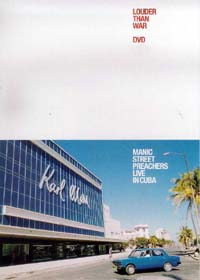 Manic Street Preachers : Louder Than War - Live From Cuba. Album Cover