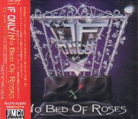 If Only : No Bed Of Roses. Album Cover