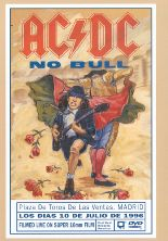 AC/DC : No Bull ( Live in Madrid) DVD. Album Cover