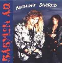 Babylon A.D. : Nothing Sacred. Album Cover