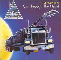 DEF LEPPARD : On Through The Night. Album Cover