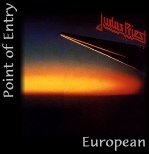 Judas Priest : Point Of Entry. Album Cover
