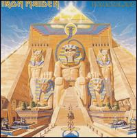 IRON MAIDEN : Powerslave. Album Cover