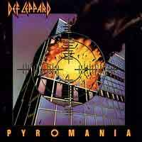 DEF LEPPARD : Pyromania. Album Cover