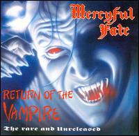 Mercyful Fate : Return Of The Vampire. Album Cover