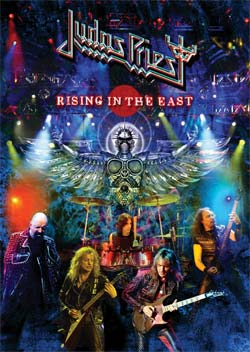 Judas Priest : Rising in the east. Album Cover