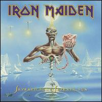 IRON MAIDEN : Seventh Son Of A Seventh Son. Album Cover
