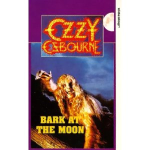 Osbourne, Ozzy : Bark at the moon concert. Album Cover