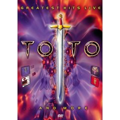 Toto : Greatest Hits Live (DVD). Album Cover