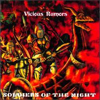 Vicious Rumors : Soldiers Of The Night. Album Cover