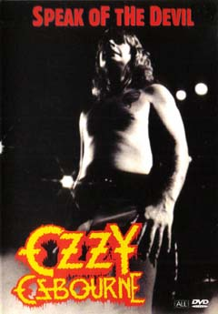 Osbourne, Ozzy : Speak of the devil (DVD). Album Cover
