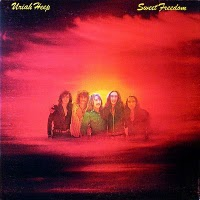Uriah heep : Sweet freedom. Album Cover