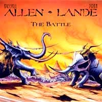 Allen - Lande : The Battle. Album Cover