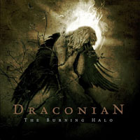 Draconian : The Burning Halo. Album Cover