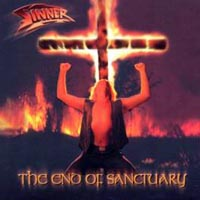 Sinner : The End Of Sanctuary. Album Cover
