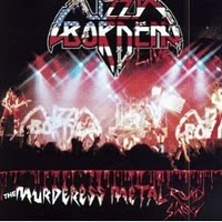Lizzy Borden : The Murderess Metal Roadshow. Album Cover