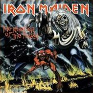 Iron Maiden : The Number Of The Beast. Album Cover