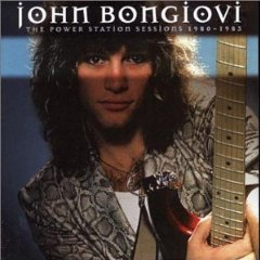 Bon Jovi, Jon : The power station sessions 1980-83. Album Cover