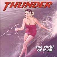 Thunder : The Thrill Of It All. Album Cover