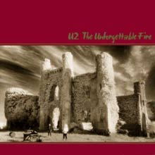 U2 : The Unforgettable Fire. Album Cover