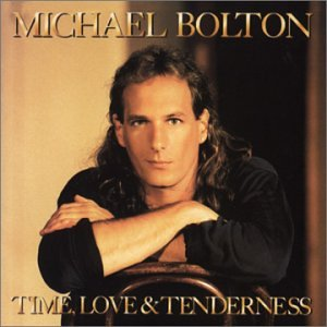 Bolton, Michael : Time, Love & Tenderness. Album Cover