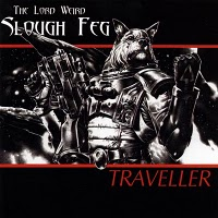 Lord Weird Slough Feg, The : Traveller. Album Cover