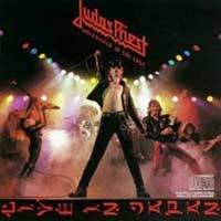 Judas Priest : Unleashed In The East. Album Cover