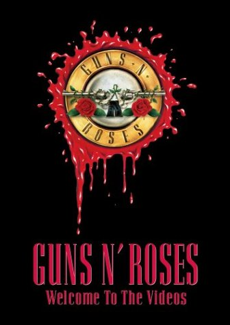 Guns N' Roses : Welcome To The Videos - DVD. Album Cover