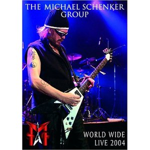Msg : World Wide Live 2004 Dvd. Album Cover