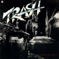 Trash : Burnin' Rock. Album Cover