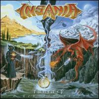 Insania (Stockholm) : Fantasy - A New Dimension. Album Cover