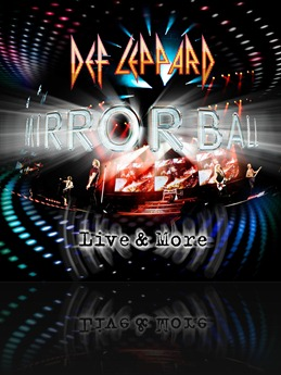 Def Leppard : Mirrorball. Album Cover